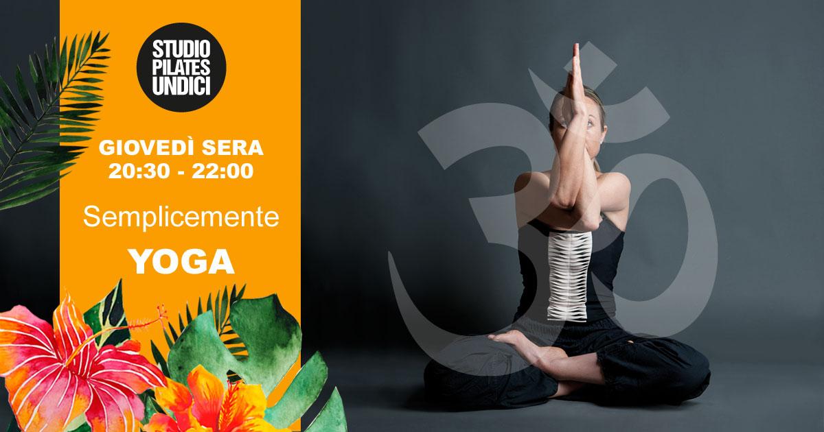 YOGA a TREVISO i GIOVEDì sera @ Studio Pilates 11